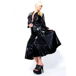 Jupe large en latex Swinger par Latexa - Malins-Plaisirs.com